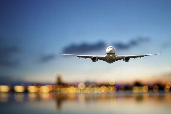 Anreise mit dem Flugzeug