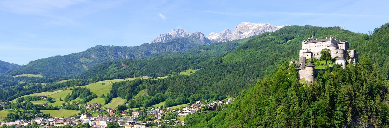 Festung Hohenwerfen - Ausflugsziel im Salzburger Land