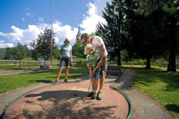 Minigolf in Radstadt - Sommerurlaub im Salzburger Land