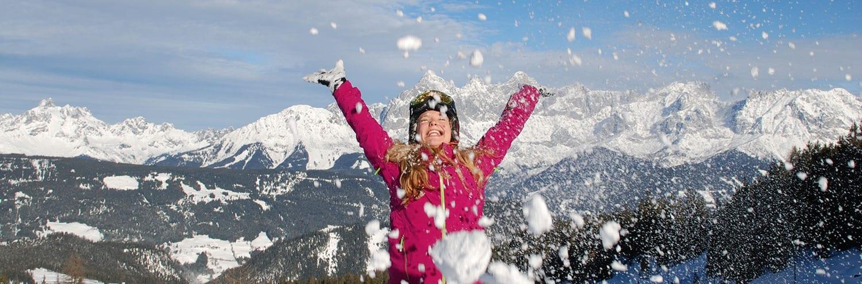 Ski- & Winterurlaub auf der Fageralm in Forstau