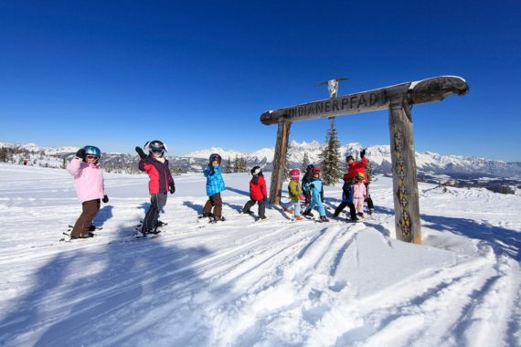 Skiurlaub auf der Fageralm, Ski amadé