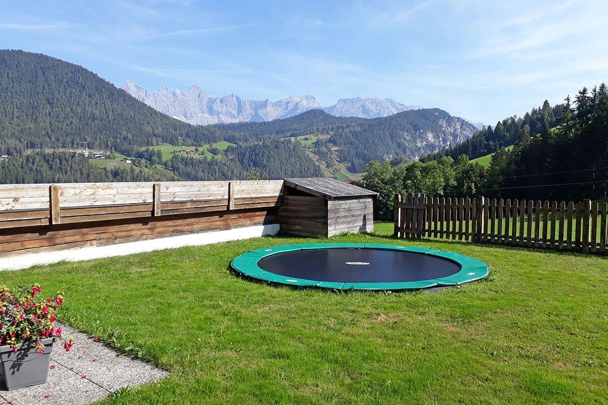 Kinderspielplatz - Familienurlaub in Forstau, Salzburger Land