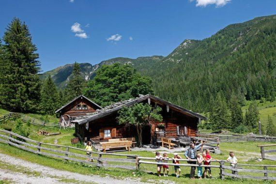 Wandern in Forstau - Sommerurlaub im Salzburger Land